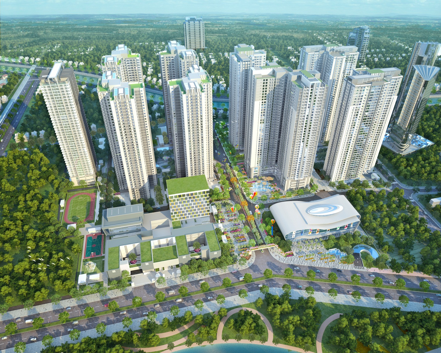 Goldmark City Apartment
